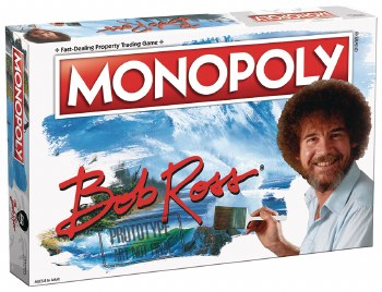Monopoly Bob Ross Board Game (