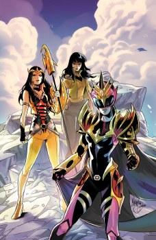 Power Rangers Drakkon New Dawn #2 Mora 10 Copy Var