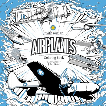 Airplanes Smithsonian Coloring Book