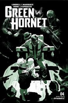Green Hornet #4 Cvr A Weeks