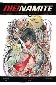 Die!namite #1 Momoko Vampirella Zombie 10 Copy Var