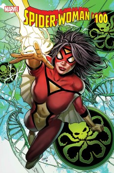 Spider-Woman #100 By Greg Land