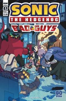 Sonic the Hedgehog Bad Guys #3 (of 4) Cvr A Hammerstrom