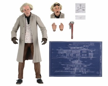 Back To the Future Doc Brown Ultimate 7in Action Figure