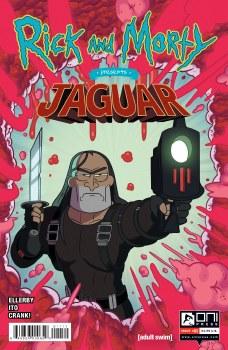 Rick and Morty Presents Jaguar #1 Cvr A Ellerby