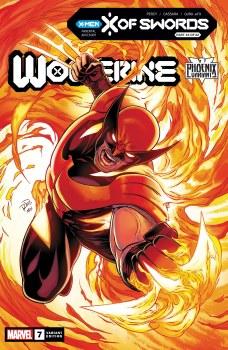 Wolverine #7 Dauterman Phoenix Var Xos