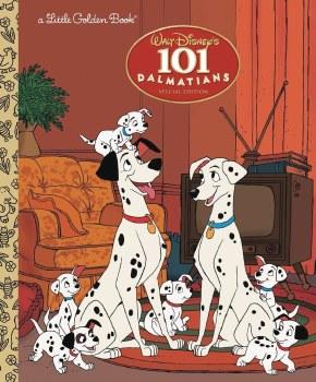 101 Dalmations Little Golden Book Reissue
