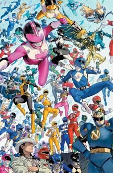 Power Rangers #1 Mora 10 Copy Var