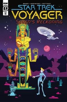 Star Trek Voyager Sevens Reckoning #2 (of 4) Veregge 10 Copy Var