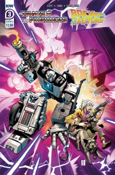 Transformers Back To Future #3 (of 4) Cvr A Juan Samu