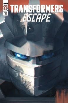 Transformers Escape #1 (of 5) Pitre-Durocher 10 Copy Var