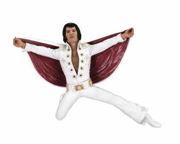 Elvis Presley Live 1972 7in Action Figure