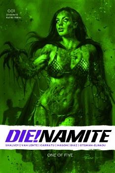 Die!namite #1 Parillo Dressed Gangrene Green Tint 13 Copy Var