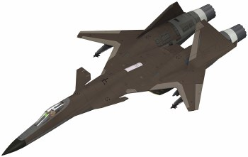 Ace Combat Adfx-01 Plastic Model Kit For Modelers Edition