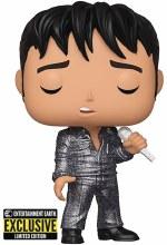 Pop Elvis Presley 1968 Comeback Special Diamond Glitter Figure