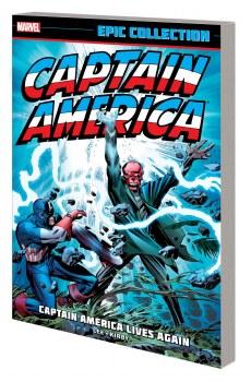 Captain America Epic Coll TP Lives Again New Ptg
