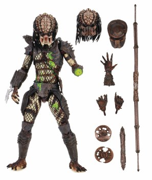 Predator 2 Ultimate Battle Damaged City Hunter 7in Action Figure