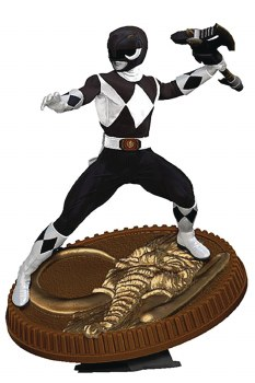Power Rangers Black Ranger 1:8 Scale Pvc Statue
