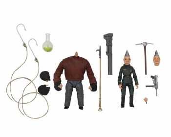 Puppet Master Pinhead & Tunneler Ultimate 4in Action Figure 2pk