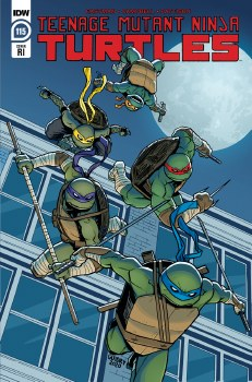 Tmnt Ongoing #115 Guidry 10 Copy Var