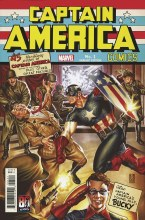 Captain America Anniversary Tribute #1 Brooks Var
