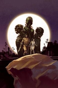 Cimmerian Iron Shadows In Moon #1 Cvr B Augustin (Mr)