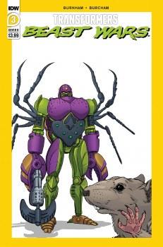 Transformers Beast Wars #3 Cvr B Dan Schoening