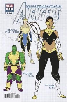 Avengers #44 Garron Design Var