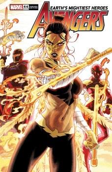 Avengers #44 Weaver Connecting Var