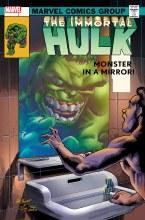 Immortal Hulk #45 Bennett Homage Var
