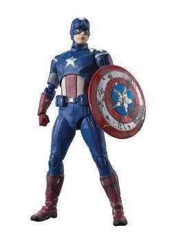 Avengers Captain America Avengers Assemble S.h.figuarts Action Figure
