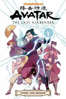Avatar Last Airbender Smoke & Shadow Omnibus TP (C: 1-0-0)