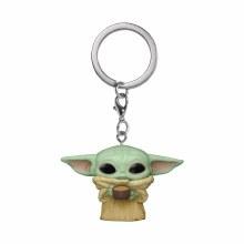 Pocket Pop Sw Mandalorian Child W/Cup Keychain (C: 1-1-2)