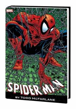 Spider-Man By Mcfarlane Omnibus HC Red Blue Cost Cvr New Ptg