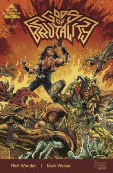 Gods of Brutality #1 (of 4) Cvr A Welser
