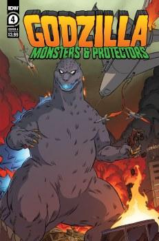 Godzilla Monsters & Protectors #4 (of 5) Cvr A Dan Schoening