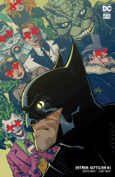 Batman Reptilian #1 Cvr B Cardstock Hamner Var