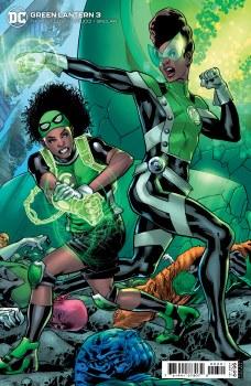 Green Lantern #3 Cvr B Cardstock Hitch Var