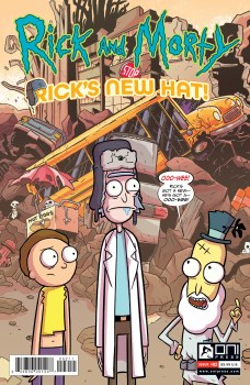 Rick and Morty Ricks New Hat #2 Cvr A Stresing