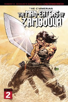 Cimmerian Man-Eaters of Zamboula #2 Cvr A Marion (Mr)