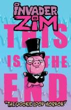 Invader Zim Dookie Loop Horror Oneshot Cvr C Vasquez