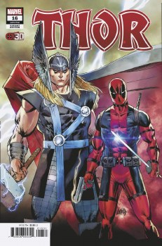Thor #16 Liefeld Deadpool 30th