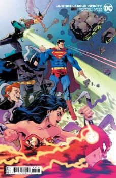 Justice League Infinity #1 Cvr B Cardstock Hepburn Var