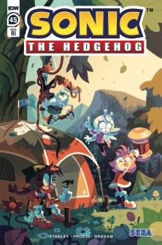 Sonic the Hedgehog #45 Cvr C 10 Copy Incv Fourdraine (Net) (