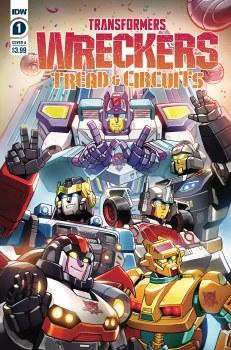 Transformers Wreckers Tread & Circuits #1 (of 4) Cvr A  Lawr