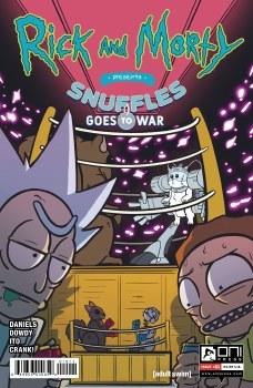 Rick & Morty Presents Snuffles Goes To War #1 Cvr A Dowdy