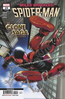 Miles Morales Spider-Man #29 2nd Ptg Var