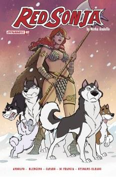 Red Sonja (2021) #2 Cvr O Foc Bonus Fleecs & Forstner Orig a