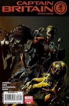 Captain Britain and Mi 13 #6 Yardin Zombie Var