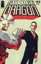 Savage Dragon #145 Cvr B Obama Variant
